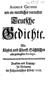 http://www.zeno.org/Literatur/M/Gryphius,+Andreas